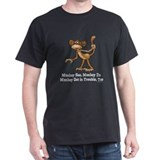 Monkey See... Black T-Shirt