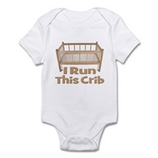 I Run This Crib Infant Bodysuit