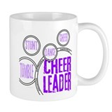 Cheer Circles Purple Mug
