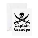 Captain Grandpa Greeting Card