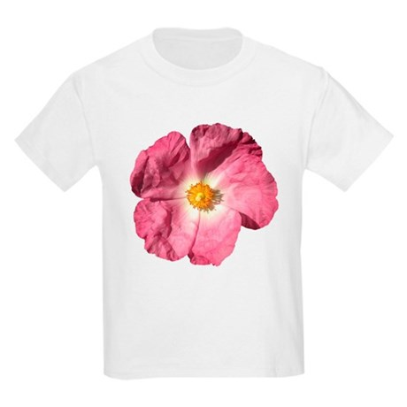 Pink Flower Kids Light T-Shirt