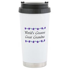 Greatest Great Grandma Ceramic Travel Mug