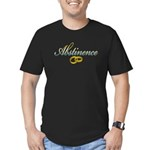 Abstinence Men's Fitted T-Shirt (dark)