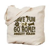 Have Fun Dog Agility Tote Bag