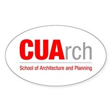 CUArch Oval Decal