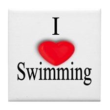 Swimming Tile Coaster
