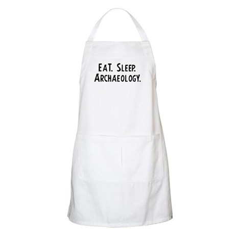 Eat, Sleep, Archaeology BBQ Apron