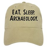 Eat, Sleep, Archaeology Baseball Cap
