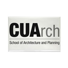 CUArch Rectangle Magnet
