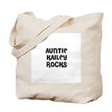 AUNTIE KAILEY ROCKS Tote Bag