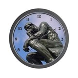 The Thinker - Wall Clock