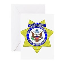 Bail Enforcement Agent Greeting Cards (Pk of 20)