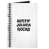 AUNTIE JULIANA ROCKS Journal