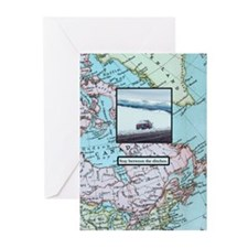 Stay between the ditches Greeting Cards (Pk of 20)
