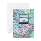 Stay between the ditches Greeting Cards (Pk of 10)