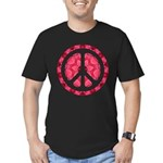 Flower Power Men's Fitted T-Shirt (dark)