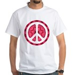 Flower Power White T-Shirt