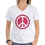 Flower Power Women's V-Neck T-Shirt
