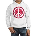 Flower Power Hooded Sweatshirt