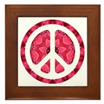 Flower Power Framed Tile