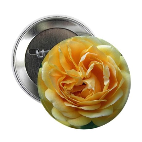 "Yellow Rose 2.25"" Button"