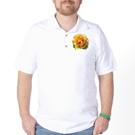 Yellow Rose Golf Shirt