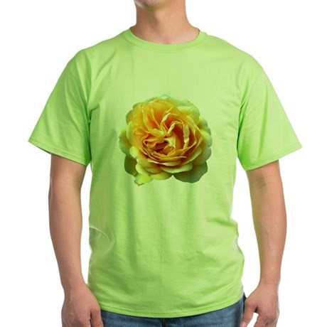 Yellow Rose Green T-Shirt