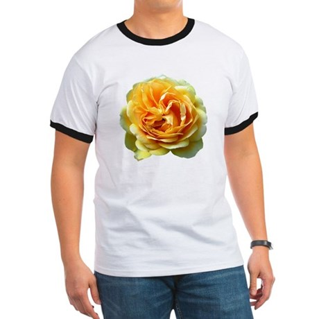 Yellow Rose Ringer T