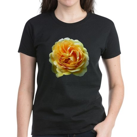 Yellow Rose Women's Dark T-Shirt