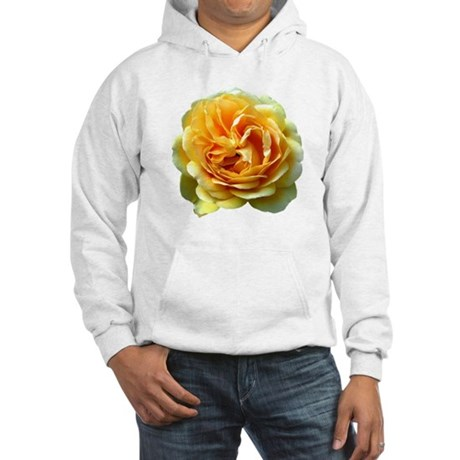 Yellow Rose Hooded Sweatshirt