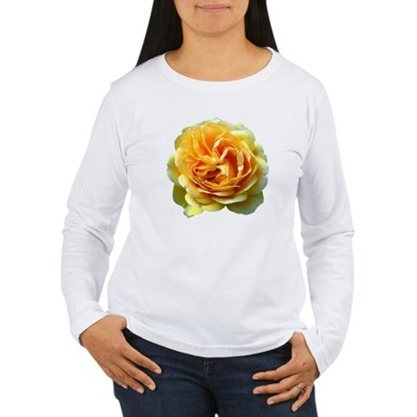 Yellow Rose Women's Long Sleeve T-Shirt