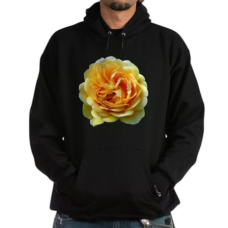 Yellow Rose Hoodie (dark)