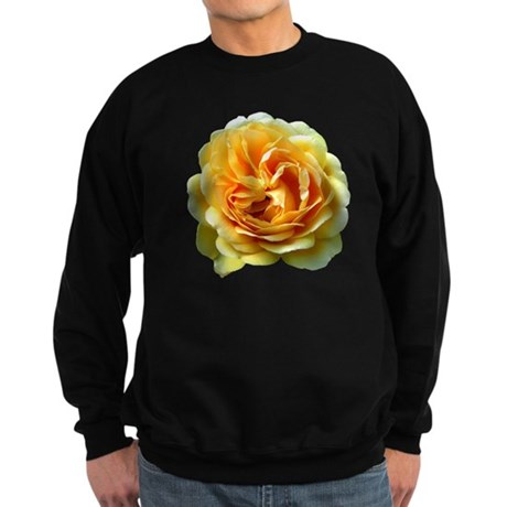 Yellow Rose Sweatshirt (dark)