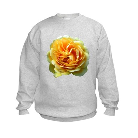 Yellow Rose Kids Sweatshirt