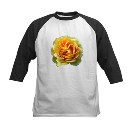 Yellow Rose Kids Baseball Jersey