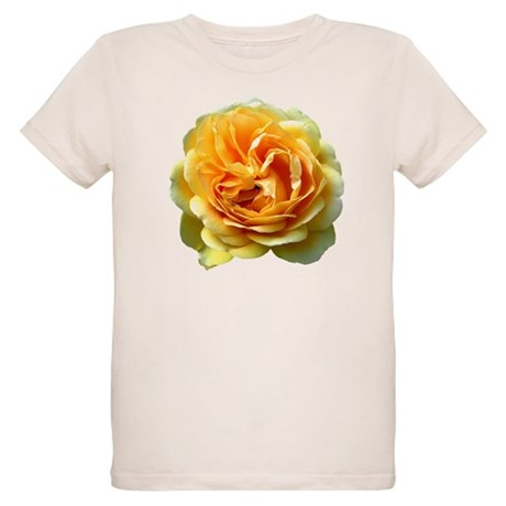 Yellow Rose Organic Kids T-Shirt