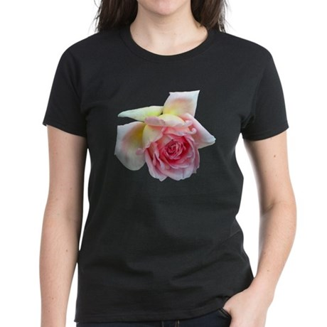 Birdlike Rose Women's Dark T-Shirt