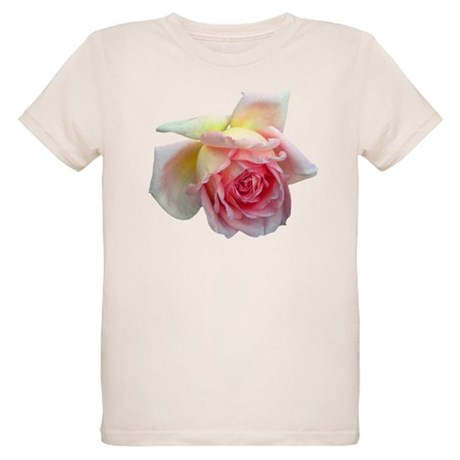 Birdlike Rose Organic Kids T-Shirt