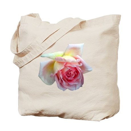 Birdlike Rose Tote Bag