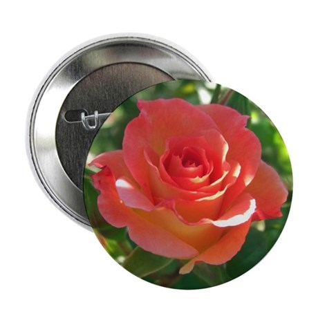 "Rose Cup 2.25"" Button"