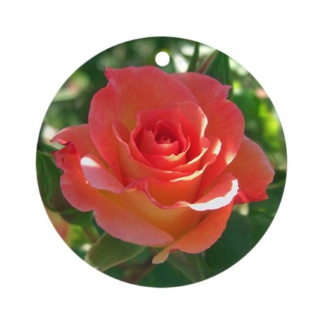 Rose Cup Ornament (Round)