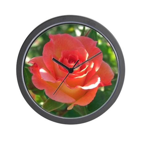 Rose Cup Wall Clock