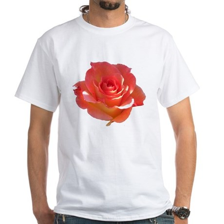 Rose Cup White T-Shirt