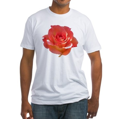 Rose Cup Fitted T-Shirt