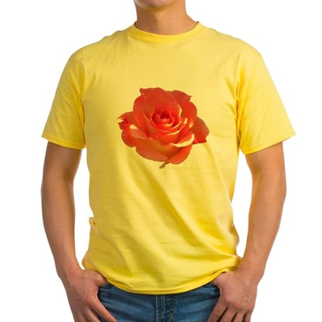 Rose Cup Yellow T-Shirt