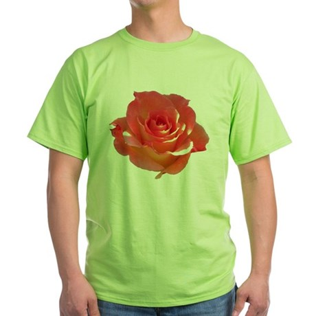 Rose Cup Green T-Shirt