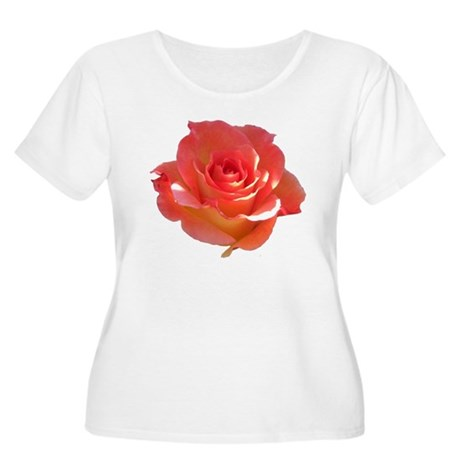 Rose Cup Women's Plus Size Scoop Neck T-Shirt