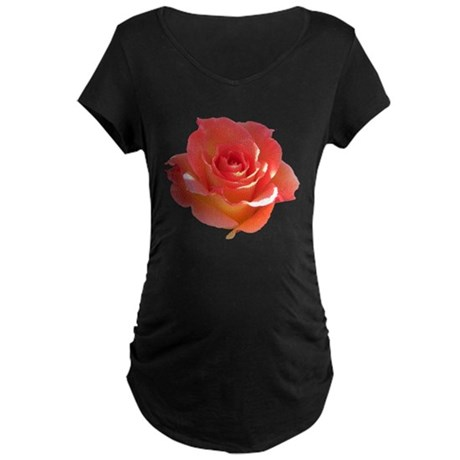 Rose Cup Maternity Dark T-Shirt