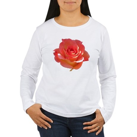 Rose Cup Women's Long Sleeve T-Shirt