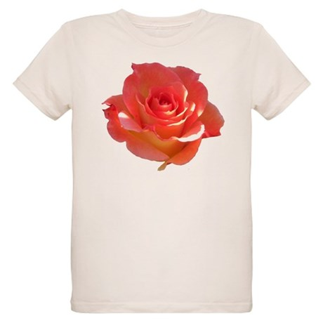Rose Cup Organic Kids T-Shirt